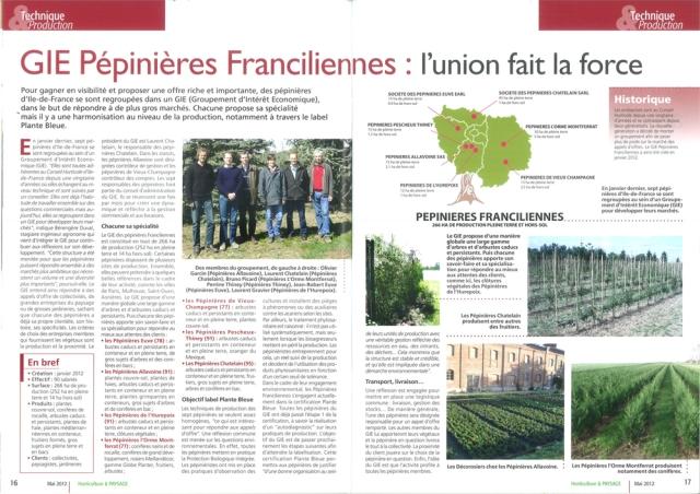 Pepinieresfranciliennes les p pini ristes d 39 ile de france for Horticulture et paysage